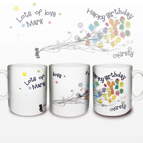Personalised Balloons Mug